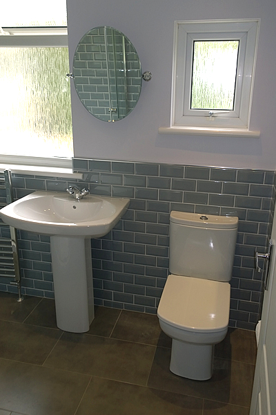 Charmant Bathroom. New Build. Cloakroom