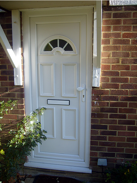 Replacement front door